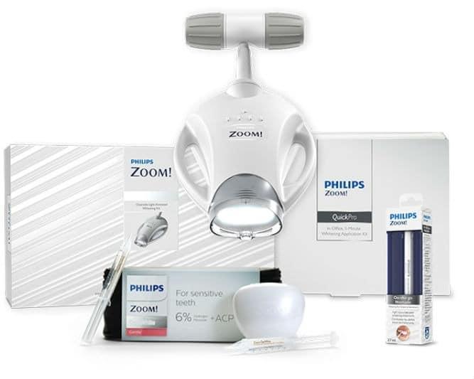 zoom DIY home teeth whitening kit